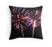 Firelion Throw Pillow