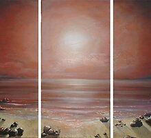 Hazy Moonscape by Cherie Roe Dirksen