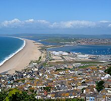 Chesil Beach, Dorset, England by patapping