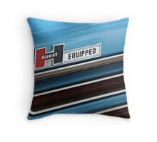 Hurst Equipped Throw Pillow