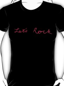Twin Peaks: Fire Walk With Me - Let's Rock T-Shirt