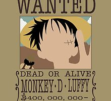 Monkey D Luffy by Pathos