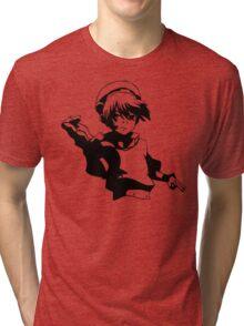 Toph Stencil Art Tri-blend T-Shirt