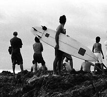 Byron Bay Surfers by Marcel Lee
