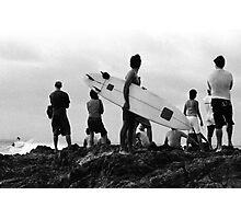Byron Bay Surfers Photographic Print