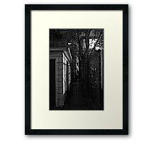 STREET SMART (WHERE TO?) Framed Print