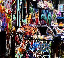 Melbourne Graffiti Sticker