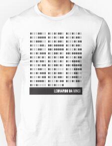 Da Vinci Binary Unisex T-Shirt
