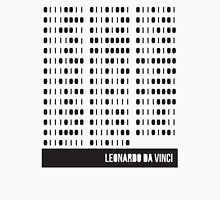 Da Vinci Binary Unisex T-Shirt