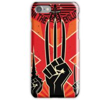 Join the R-Evolution! iPhone Case/Skin