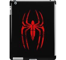Spider-Man Segmented Logo (Red on Black) iPad Case/Skin