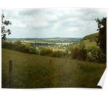 cambridgeshire landscape Poster