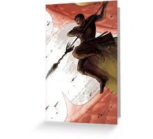 The Red Viper Oberyn Greeting Card