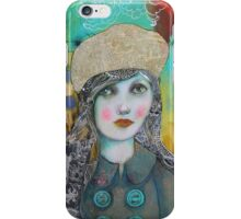 Dragons, Tweed And A Newsprint Beret iPhone Case/Skin