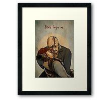 Frankenstein- Paradise Lost Framed Print