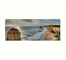 Great Ocean Road Series - 50th Anniversary (12 Apostles) Art Print