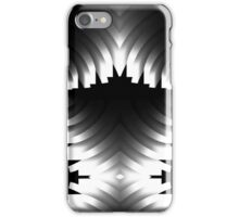 Black White and Red iPhone Case/Skin