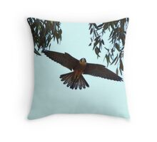 Coming Home to Roost Throw Pillow