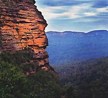 Blue Mountains by JoshuaStanley