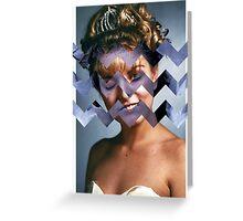 Twin Peaks - Laura [Black Lodge] Greeting Card