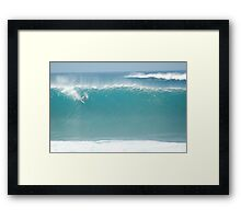 Big Drop Framed Print