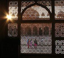Sun & Sari's. Agra Fort, India by Thomas Entwistle