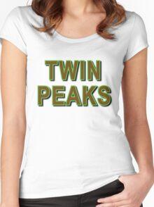 TWIN PEAKS Women's Fitted Scoop T-Shirt