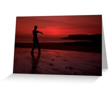 Wing Chun Greeting Card