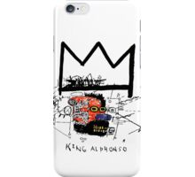 King Alphonso iPhone Case/Skin