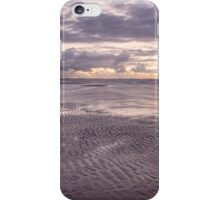 Ripples at Low Tide - Red Beach iPhone Case/Skin