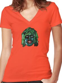 I'm Old Gregg - The Mighty Boosh Women's Fitted V-Neck T-Shirt