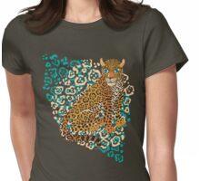 Jaguar Spots Womens Fitted T-Shirt