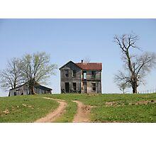 Missouri Country Ruins Photographic Print