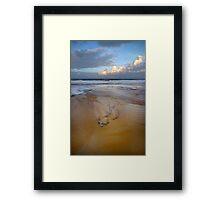 Tidal Debris Framed Print