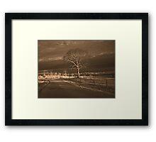 lone Framed Print