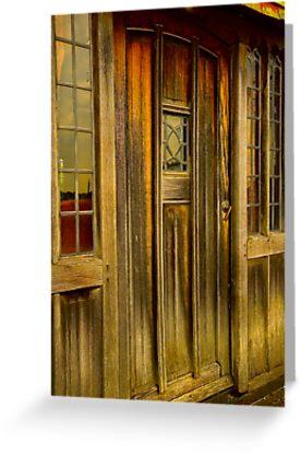 The Manor door by GlennRoger