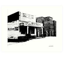 Hurbert Hillis Gro. McMinnville TN Art Print
