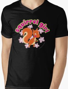 Squirrel Girl Mens V-Neck T-Shirt