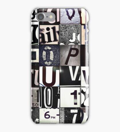 Instagram Alphabet Collection #6 iPhone Case/Skin