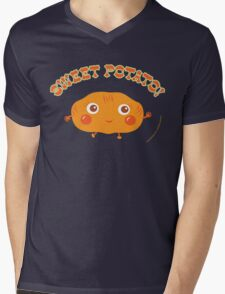 Sweet Potato Mens V-Neck T-Shirt