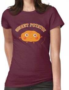 Sweet Potato Womens Fitted T-Shirt