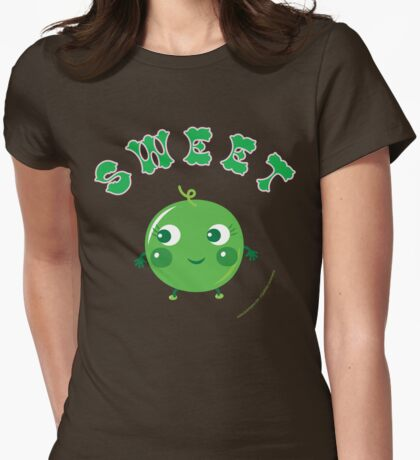Pea Womens Fitted T-Shirt