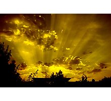harrow sunset Photographic Print