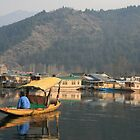 Dal Lake, Srinagar, Indian Kashmir by Thomas Entwistle