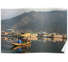 Dal Lake, Srinagar, Indian Kashmir Poster