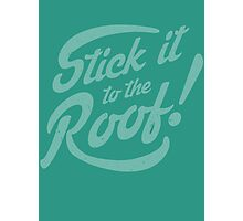 Stick it to the Roof! Photographic Print