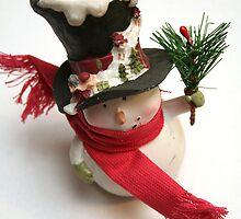 Happy Snowman by Ellie Blum