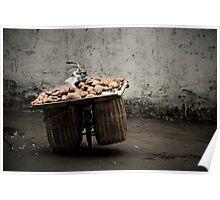 A bike load of potatoes Poster