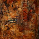 Abstract in Orange (Traditional Art) by deborah zaragoza