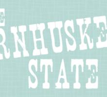Nebraska State Motto Slogan Sticker